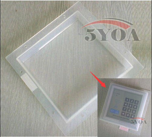 5YOA Protection Anti Rain Waterproof Cover Protective Shell face mask Casing Box For Access Control RFID device machine