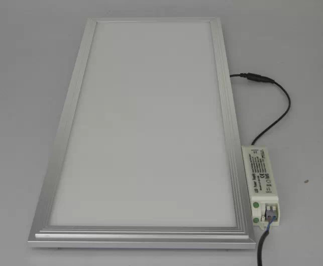 Free Shipping 300x1200mm 48w non-dimmable  LED Panel Light Aluminum Alloy+PMMA Material High Brightness+Longer life Time