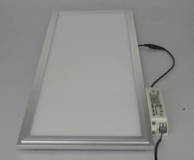 White Aluminium Panel : Free shipping mm w non dimmable led panel light aluminum