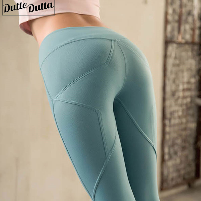 c54bc37dea3df Detail Feedback Questions about Women High Waist Gym Seamless Leggings  Sport Fitness Pants jogging Femme Yoga Leggings Booty Activewear Yoga Pants  on ...