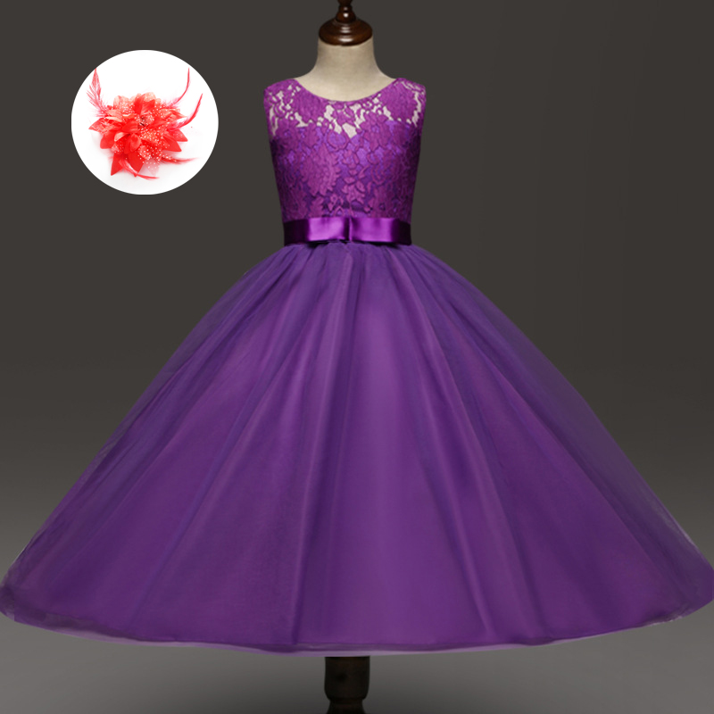 Children Special Occasion Dresses For Girls Of 5 To 12 13 -1065