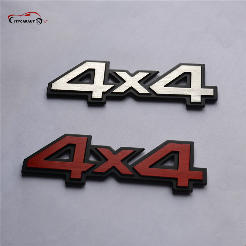 3D 4x4 Four wheel <font><b>drive</b></font> Car sticker Logo <font><b>Emblem</b></font> Badge Decals Car Styling DIY Decoration Accessories for Frod <font><b>Bmw</b></font> Lada VW image
