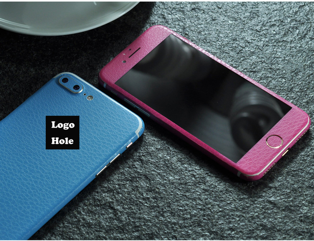3d front and back full body dermatoglyph sticker back cover wrap skin for apple iphone 7