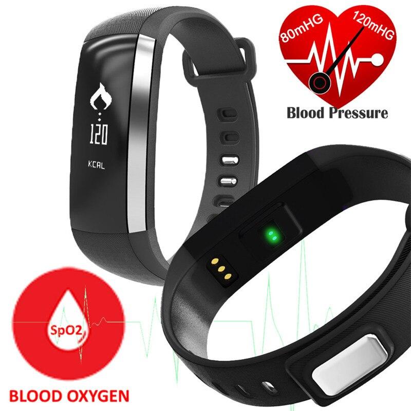imágenes para Lo nuevo M2 Multifuncional Banda Reloj de pulsera Inteligente Medidor De Pulso Presión Arterial Monitor Cardíaco Banda Inteligente Fitness Smartband