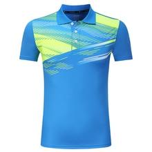 Free Print Quick dry Badminton Clothes, sports shirt ,Tennis t shirt Male/Female , Tennis shirts ,Table Tennis shirt 3870AB