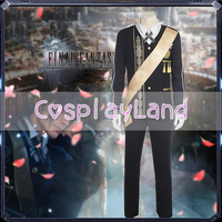 Final Fantasy XV FFXV FF15 Prince Noctis Lucis Caelum Cosplay Costume For Men Halloween Outfit Custom Made Prince Suit