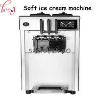 Рабочий стол для производства мягкой машины для мороженого из нержавеющей стали 18 22л/ч для производства мороженого для коммерческого испол