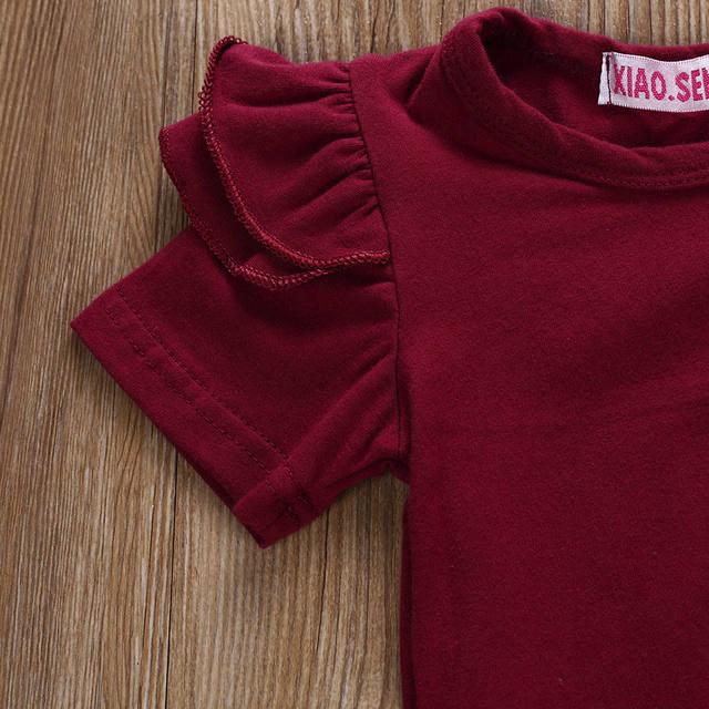 Conjunto de 3 piezas para bebé 100% algodón