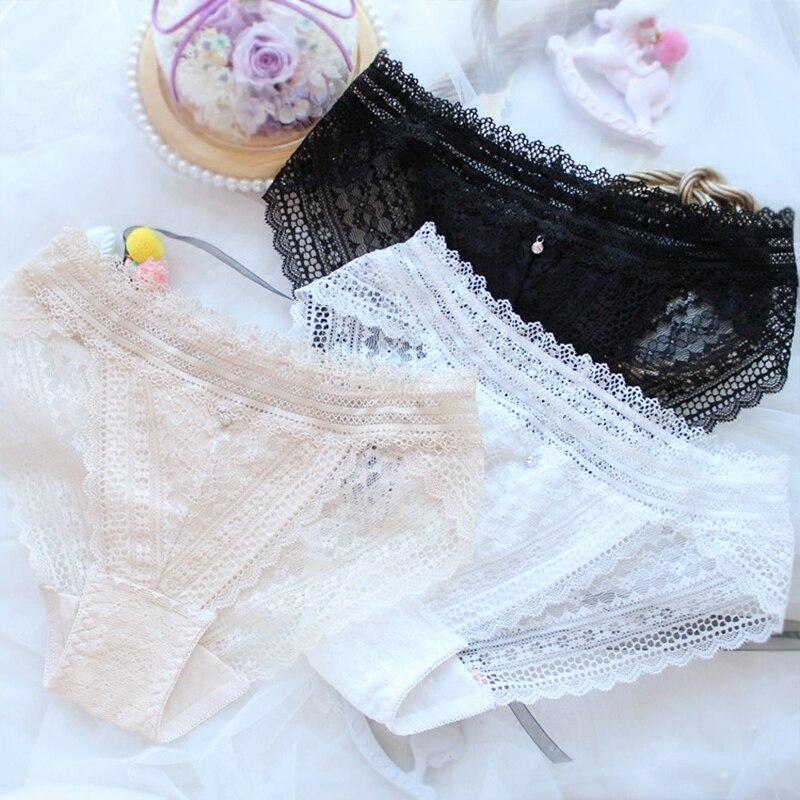 Новые тонкие кружевные трусики, нижнее белье для женщин, сексуальные прозрачные сетчатые трусики размера плюс, нижнее белье большого разме...