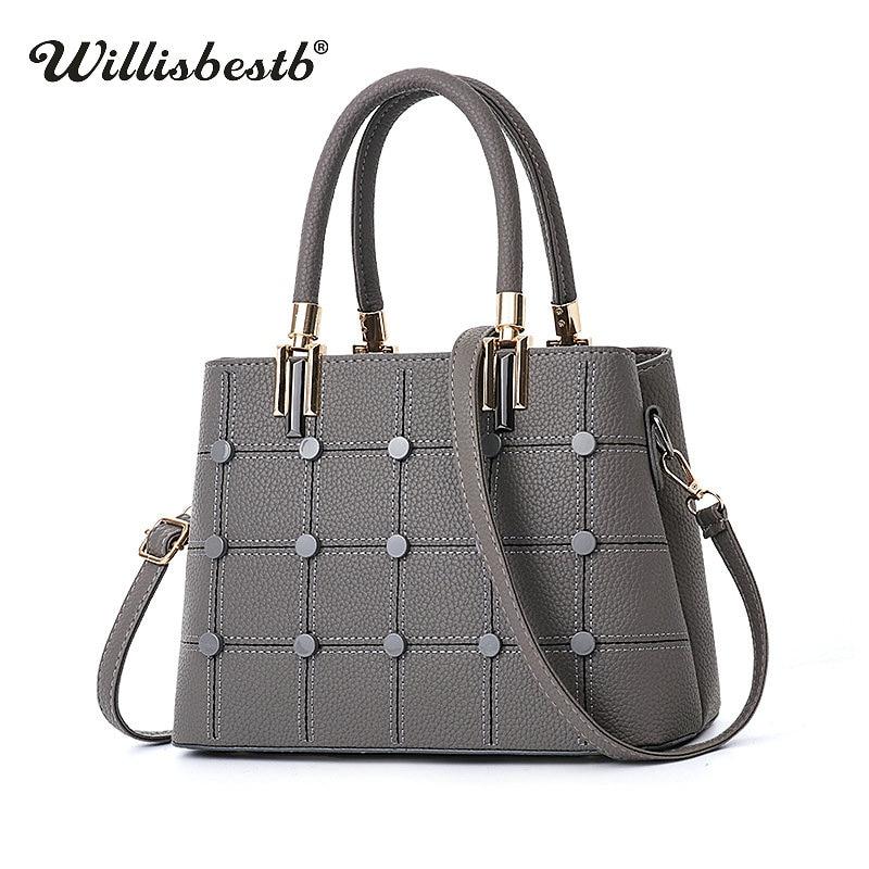 New 2018 Fashion Leather Women Handbag Luxury Summer Brand Female Shoulder Bags Designer Ladies Crossbody Bags High Quality Bag