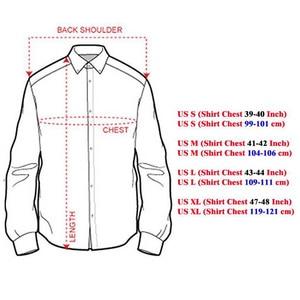 Image 5 - Sportrendy גברים של שמלת חולצה מקרית ארוך שרוול Slim Fit אופנה הדרקון אופנתי JZS044 כהה