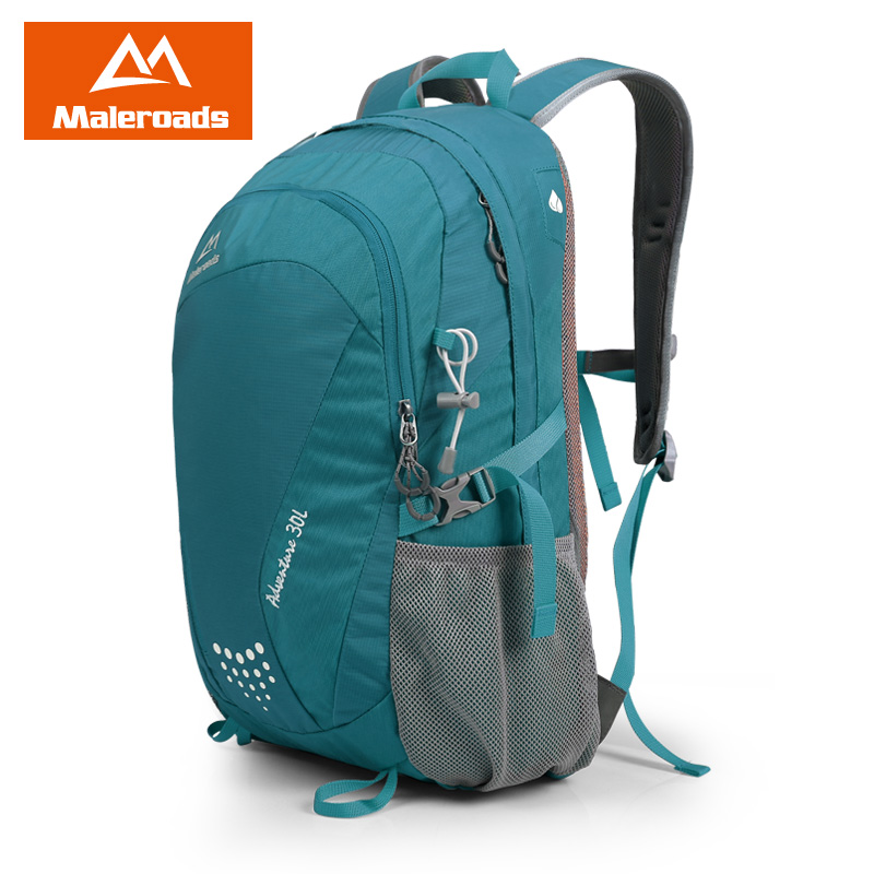 New Maleroads 30L Waterproof Nylon Camp Hike Backpack Travel Mochila Bicycle Bagpack Teenagers Climb Bag Pack For Men Women large 75l feel pioneer professional waterproof cr travel backpack camp hike mochilas climb bagpack laptop bag pack for men women