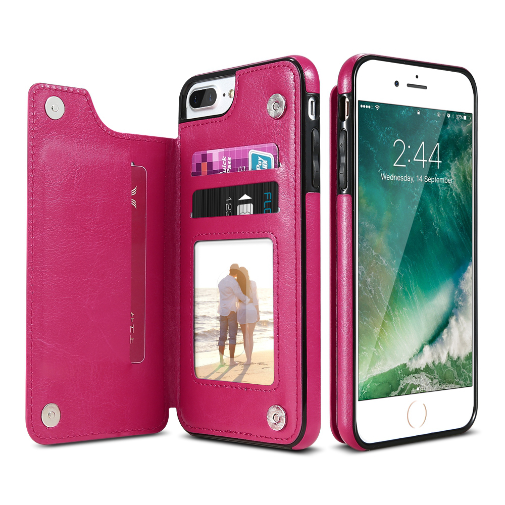 iphone flip phone case leather flip stand phone for iphone 7 7 plus for 15266