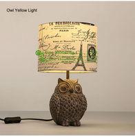 Мода Настольная лампа поли Ткань лампа Средства ухода за кожей оригинальная Светодиодная лампа жилой Освещение