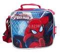 Spider-Man Spider Man Bolsa Lonchera Bolsa de Almuerzo para Los Niños de La Escuela Niños de la Historieta Lunchbag Lunchbox Niños de Picnic Alimentos bolsas