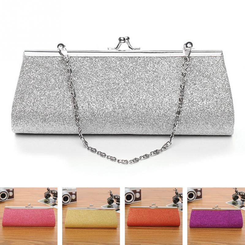 Women Evening Bag Party Wedding Clutches Banquet Glitter Bag Ladies Girls Handbag Chain Formal Shoulder Bag Bolsas Mujer Famale