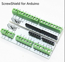 Smart Electronics ScrewShield Screw Shield for Arduino Analog side PCB 6-pin Stackable Headers Screw Terminals UNO R3