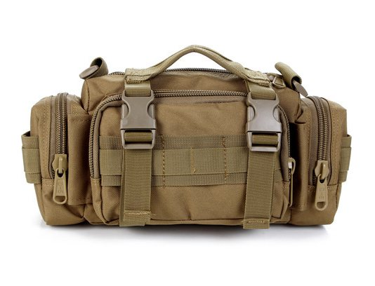 Prix pour MOLLE Multi-fonctions Tactique Taille Sport Sac Ultra-léger Chasse Soldat Airsoft Taille Sport Sac
