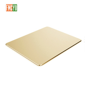 Image 4 - Aluminum mouse pad Apple notebook mouse pad office game home metal mouse pad small oversized