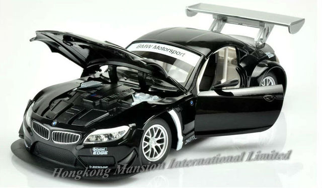 1:24 Scale Alloy Metal Diecast Luxury Racing Car Model For TheBMW Z4 GT3  Collection
