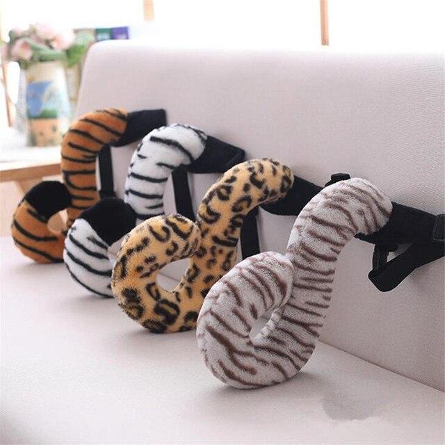 Косплей хвост Тигра, гепарда, лемура 1