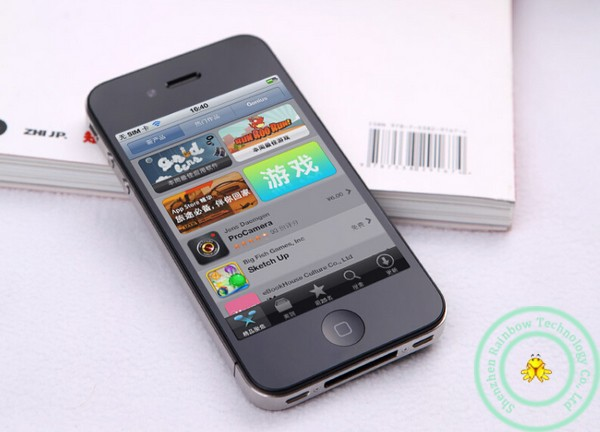 Refurbished flash iphone 4 8GB/16GB+512MB 3.5 inch unlocked   iphone4 5MP 8g mobile phone white 8g 7