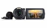 Alta Qualidade 10X Zoom Óptico Câmera de Vídeo Digital Portátil HDV-Z80 USB2.0/TV OUT/Saída HDMI Construído Em Microfone Pro Camcorder