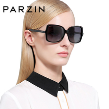 PARZIN Retro Polarized Sunglasses Big Frame Driving Glasses Shades for Women New Arrival 2019