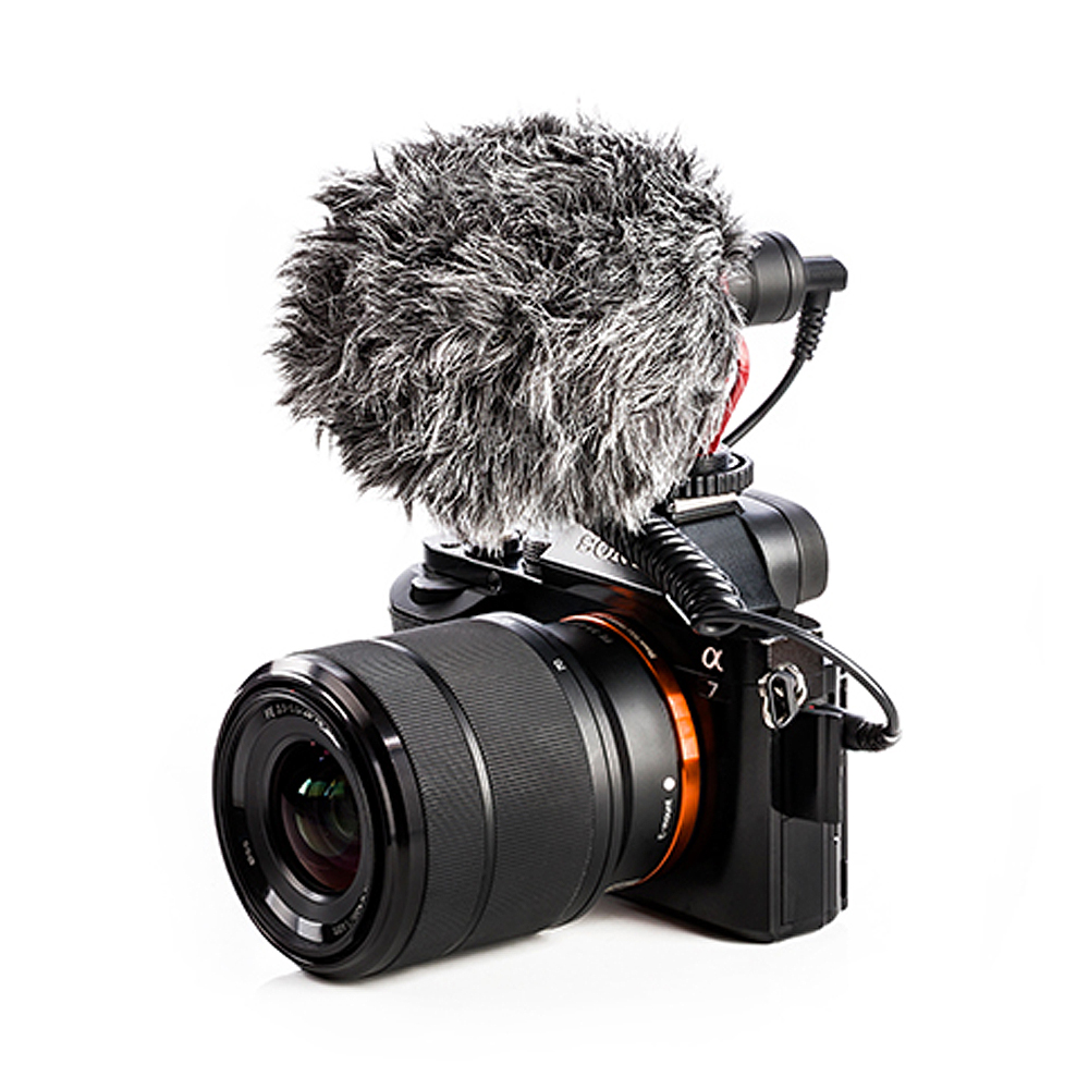 BOYA BY MM1 Video Record Microphone Compact VS Rode VideoMicro On Camera Recording Mic for Sony