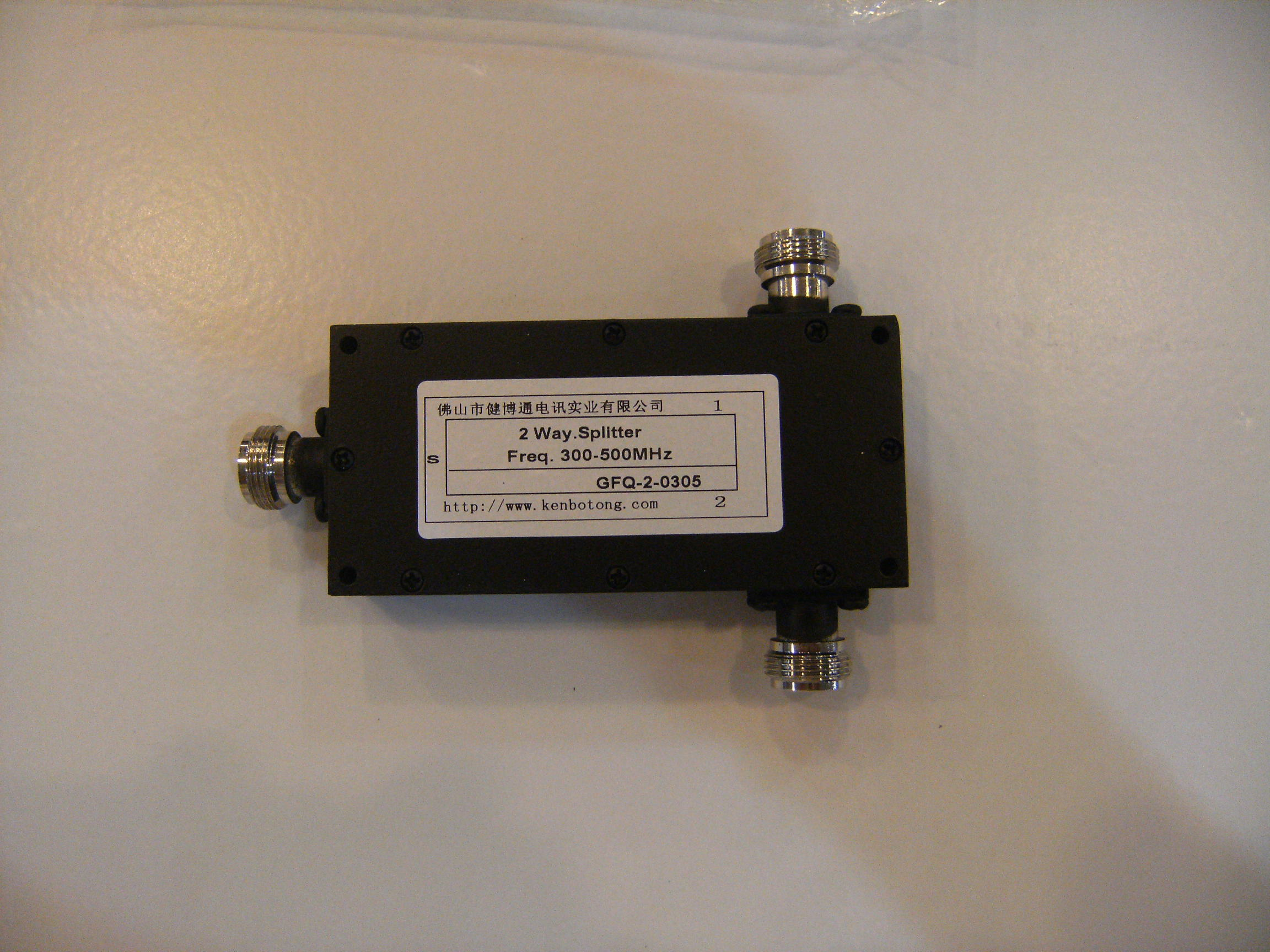 Candid 350-500mhz 400mhz/433mhz/460 Microstrip Two Power Divider Gfq-2-0305