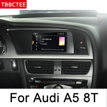 For Audi A5 8T 8F 2008~2016 MMI Android car multimedia player Support 4G 3G WiFi Radio stereo Navigation Navi Map GPS BT HD недорого
