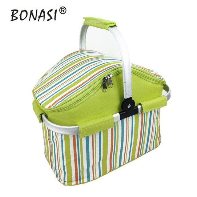 Большой Обед Чехол Водонепроницаемый обед сумка-Холодильник 3 цвета мешок Handy Cooler Портативный Пикник Теплоизоляция Сумка