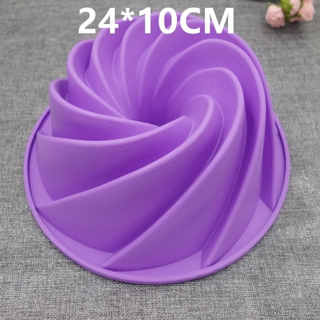 3D Silikon Kuchenformen