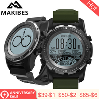 3.28 Makibes BR2 GPS Compass Speedometer Sport Watch Bluetooth HIKING Multi sport fitness tracker Smart Watch Wearable Devices