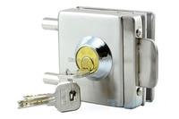 free shipping glass door lock security lock House Ornamentation Door Hardware stainless steel Anti theft lock bolt Engineering