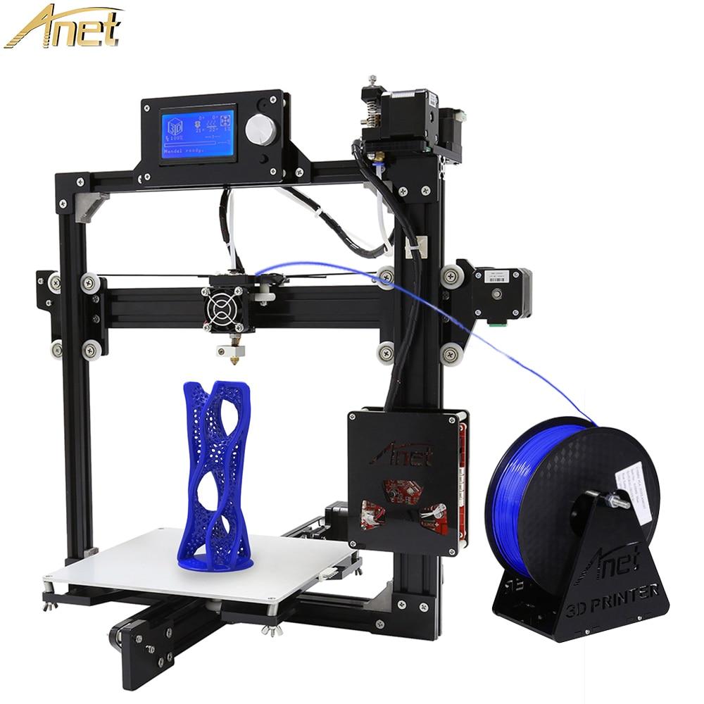 Anet A2 Metal Aluminium 3D Printer High Precision Big Size Reprap Prusa I3 DIY 3D Printer