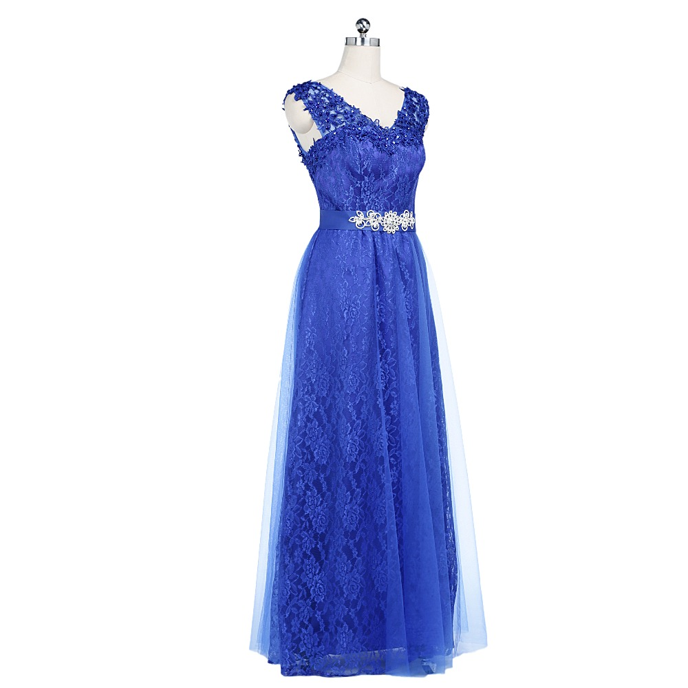 v neck Backless Floor Length Lace Sexy Wine Red A-line Formal Elegant Long Evening Dresses 2019 New Arrival Formal Dresses