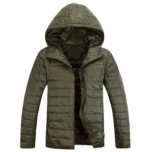 ZOGAA Men's Winter Hooded...