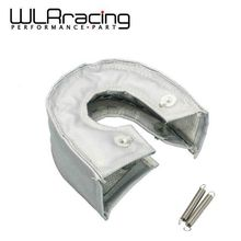 WLR RACING - T3 turbo blanket (Glass fiber) Gray fit : t2, t25 ,t28, gt28, gt30 ,gt35, and most t3 turbine housing turbo charger