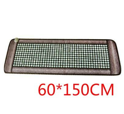 Autentica giada pietra del germanio riscaldamento divano mat mat tre divano materasso cuscino di cura di parrucchiere striscia di riscaldamento cuscino 60*150 cm