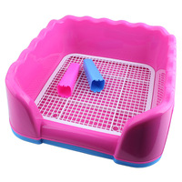 Hot Sales Pet Dog Cat With Column Toilet Tray Cat Pad Indoor Pet Potty Pet Toilet