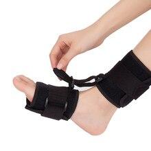 Regulowana orteza stawu skokowego wsparcie AFO ortezy pasek windy powięzi podeszwy stóp skurcze zapobieganie Foot Drop