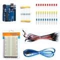 O Envio gratuito de Placa de Desenvolvimento UNO R3 Starter Kit Kit Básico Para Arduino DIY