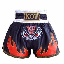 2018 New Boxing Authentic Muay Thai Shorts Men and Women Training Clothing Black Free Shipping
