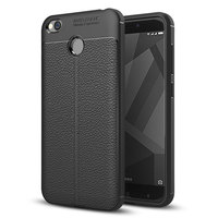 PU Leather Back Case for XiaoMi RedMi 4x Soft TPU Luxury Cover Shockproof Mobile Phone Cases Silicone Shell for RedMi 4X Conque