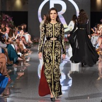 Высокое качество сексуальное женское Открытое платье с круглым вырезом и вышивкой из вискозы элегантное вечернее платье для выпускного ве
