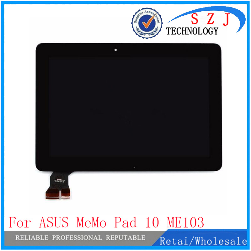 New 10.1'' inch LCD DIsplay + Touch Screen Digitizer Assembly For ASUS MeMo Pad 10 ME103 ME103C ME103K Assembly Free shipping used parts lcd display glass panel touch screen digitizer assembly frame for asus memo pad smart 10 me301 me301t k001 5280n 8v