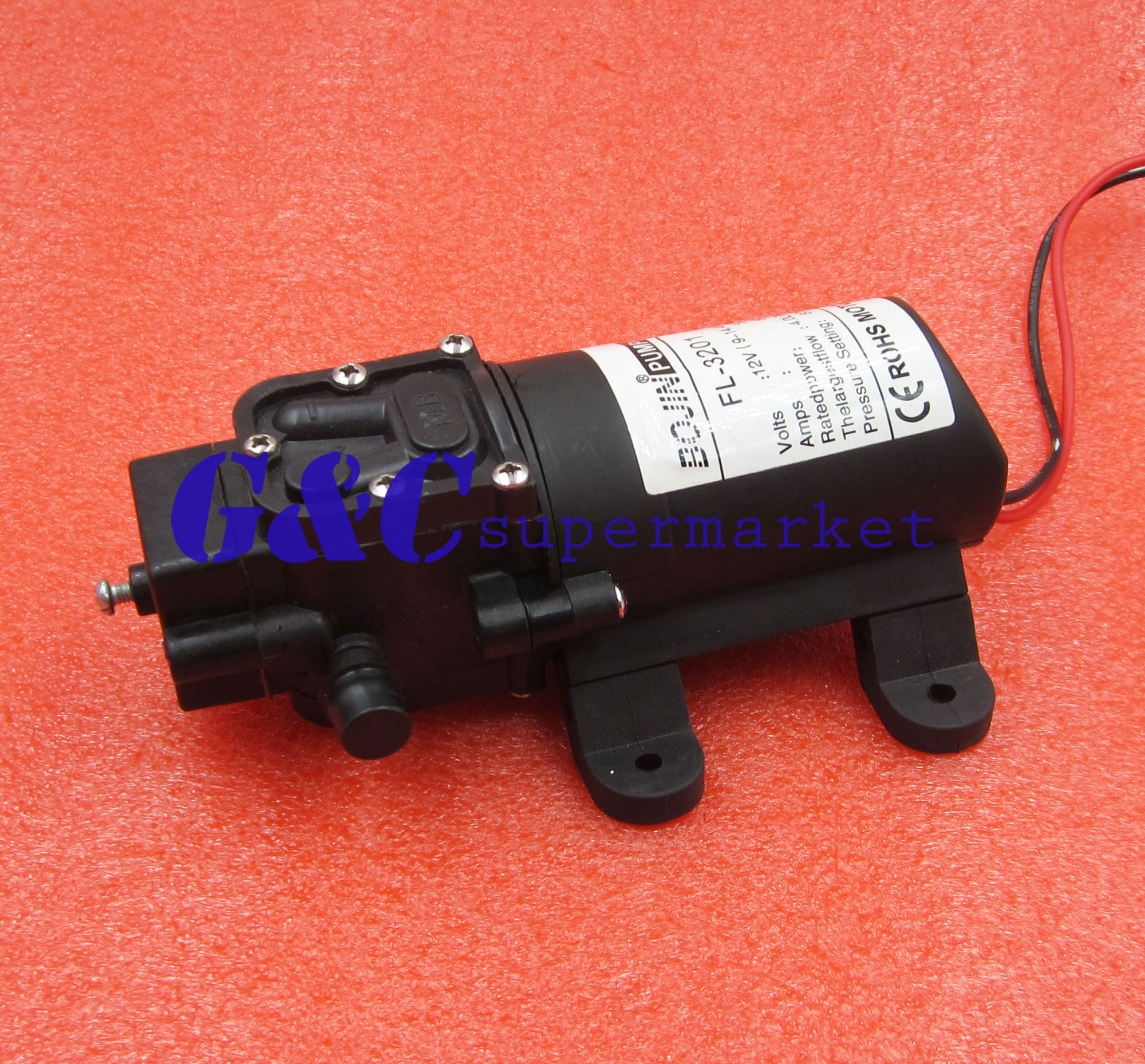 Hot12V 100PSI 4L/Min High Pressure Diaphragm Water Pump For RV CARAVAN BOAT