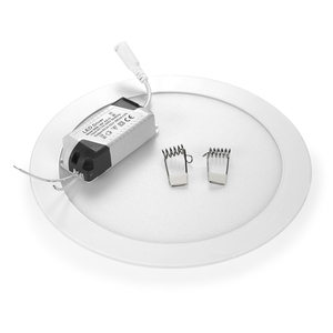 Image 3 - 울트라 얇은 led 통 패널 빛 라운드 AC85 265V 3 w 6 w 9 w 12 w 15 w 18 w 거실, 부엌 침실 로비 led 패널 빛