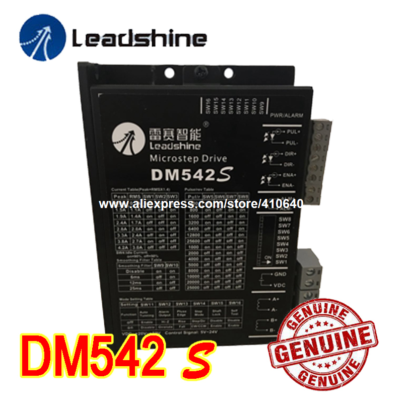 NEW!! Leadshine DM542S Updated from DM542 WITH STRONGER ANTI-INTERFERENCE FUNCTION and MORE STEADY Stepper Drive 48 VDC 4.2 A leadshine hbs507 updated from old model hbs57 closed loop stepper drive with maximum 20 50 vdc input voltage and 8 0a current